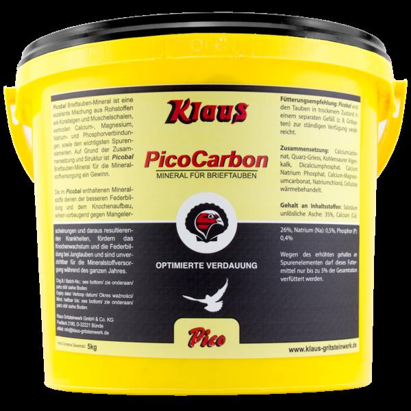 Klaus Pico Carbon 5kg Mineralmischung NEU