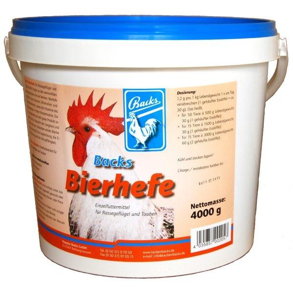 Backs Bierhefe 4kg