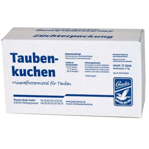Backs Taubenkuchen 12er Sparpaket