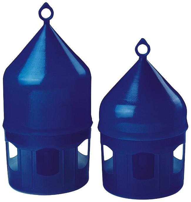 Backs Tränke aus Kunststoff blau mit Tragering 3,5 Liter
