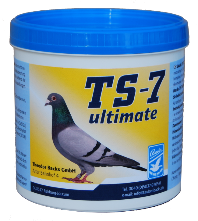 BACKS TS-7 Ultimate 500g NEU