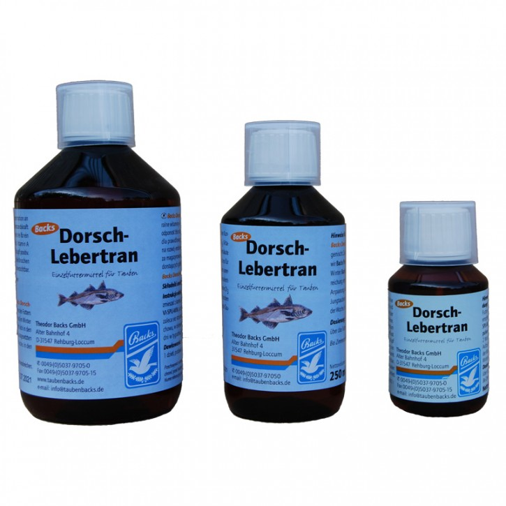 Backs Dorsch Lebertran 250ml
