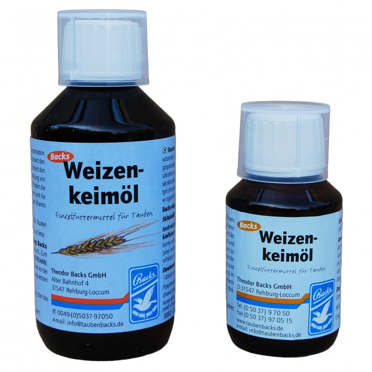 Backs Weizenkeimöl 250ml