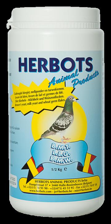 Herbots B.M.T. (Bierhefe-Milchhefe-Weizenkeim)500g