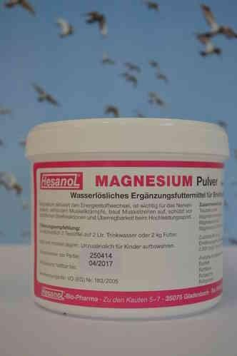 Hesanol Magnesium Pulver 100g