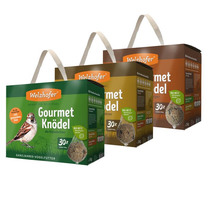 Welzhofer Gourmetknödel klassisch 30x100g mit Netz