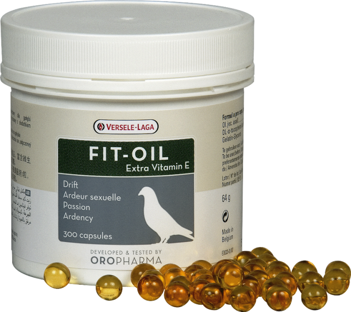 Oropharma Fit-Oil Lebertrankapseln 300 Stück
