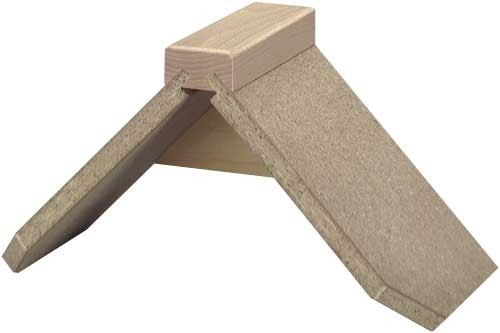 Sitzbrettchen aus Holz Spanplatte stabil (hell)