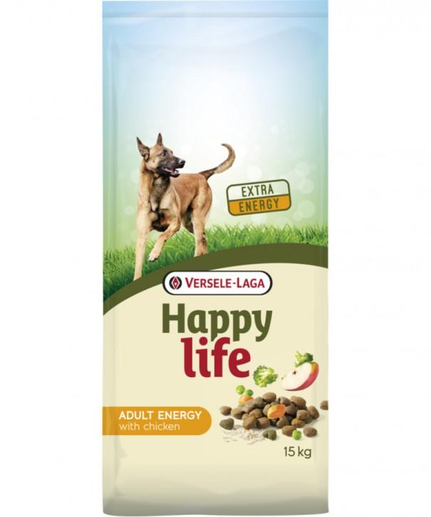 Happy Life Adult Energy mit Huhn 15kg