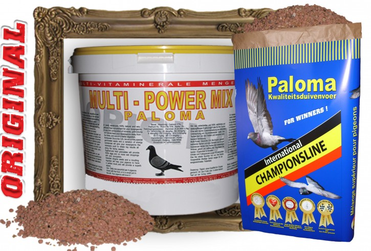 Paloma Multi Power Mix 20kg Sack