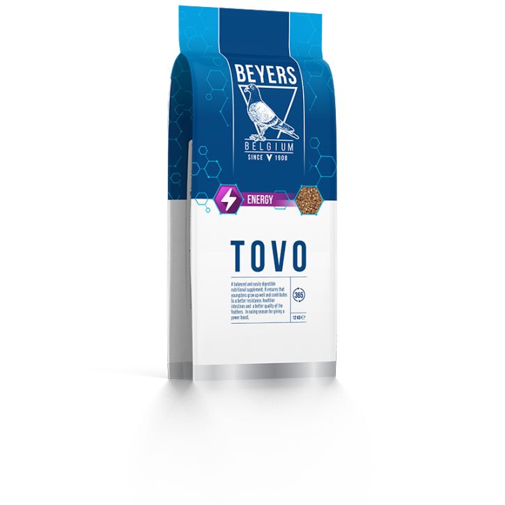 Tovo Original 12kg Kraft-und Aufzuchtfutter für Tauben