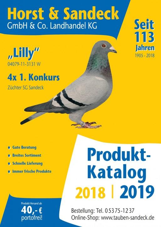 Sandeck Produktkatalog 2018/ 2019 NEU!
