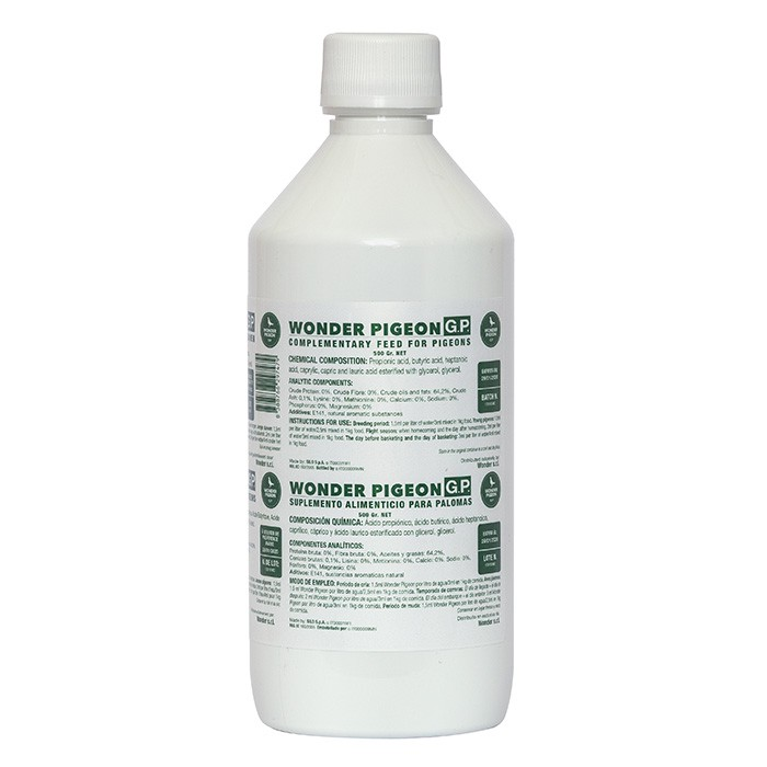 "Wonder Pigeon ""Green Power"" 500ml"