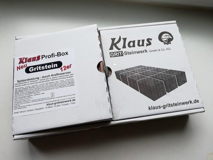 Klaus Gritstein Profi Box 12er Paket NEU