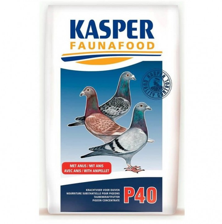 P 40 Taubenkraftfutter Kasper Faunafood 22kg (5x4,4kg)