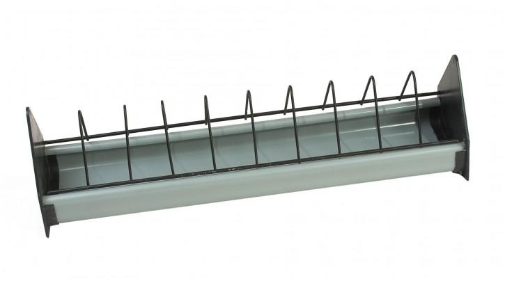 Taubenfuttertrog Kunststoff 75 cm grau/schwarz