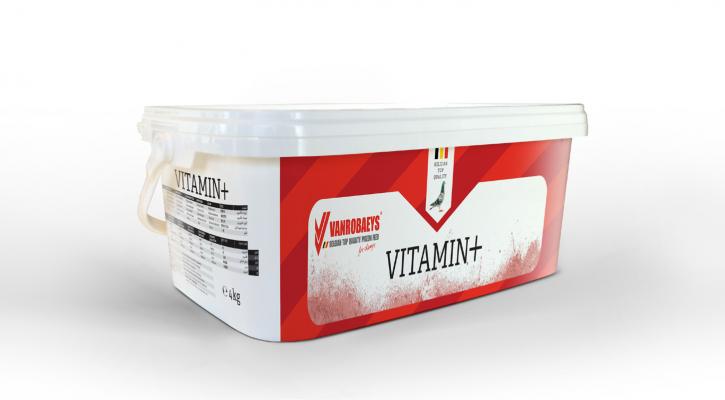 Vanrobaeys Vitamin+ 4kg NEU