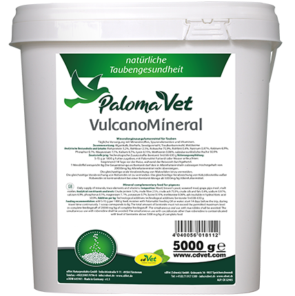 cdVet/PalomaVet Vulcano Mineral 5kg NEU