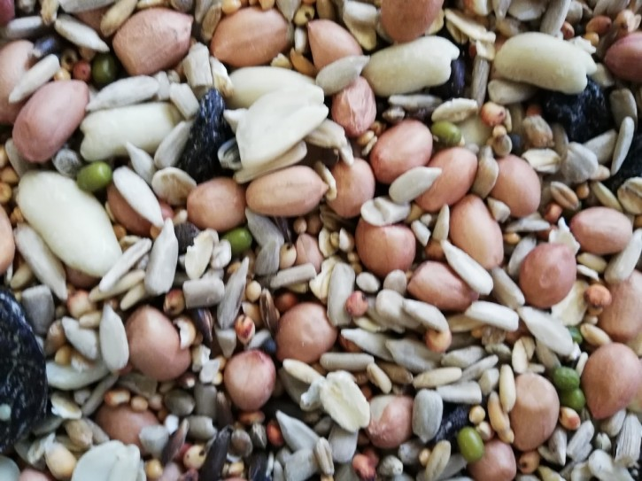 Wildvogelfutter schalenlos Basic Energy 15kg Vanrobaeys