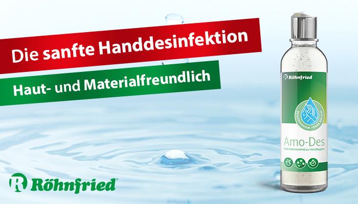 Slide Hände-Desinfektion