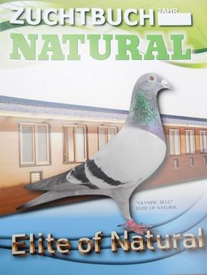 NATURAL Zuchtbuch im Taschenkalender-Format
