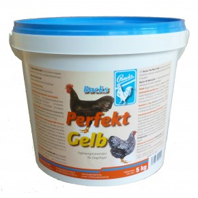 Backs Perfekt Gelb 5kg