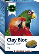 Orlux Vogelpickstein Clay Bloc Amazon River 550g