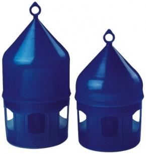 Tränke aus Kunststoff blau mit Tragering 5 Liter (Backs)