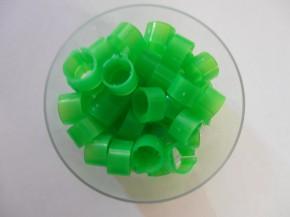 Clipsringe grün 50 Stück
