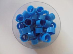 Clipsringe blau 50 Stück