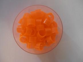Clipsringe orange 50 Stück