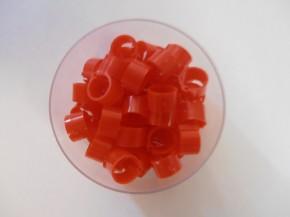 Clipsringe rot 50 Stück