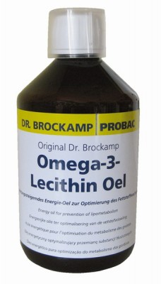 Brockamp Omega-3-Lecithin Öl 500 ml