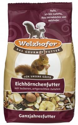 Welzhofer Eichhörnchenfutter 1000g