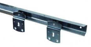 Trennwand Schiene 150cm + 2 Laufrollen im Set (inkl. 5,- Sperrgut)