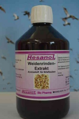 Hesanol Weidenrinden-Extrakt flüssig 500ml