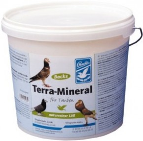 Backs Terra Mineral 4 kg Eimer