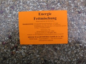SPINNE Top Energie-Fettmischung 5kg Beutel