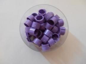 Clipsringe lila 50 Stück