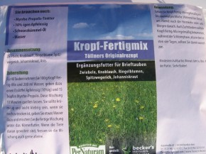 Töllner Kropf Fertig-Mix 1kg