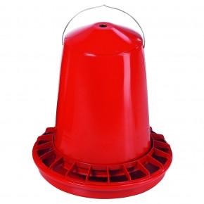 Futterautomat Kunststoff rot für 8-12kg Backs