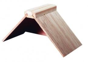 Sitzbrettchen aus Holz einfach