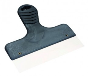 Handspachtel 18 cm schwarz