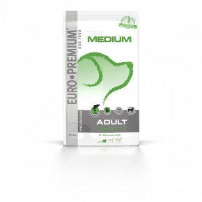 Euro Premium Medium Adult Derma+ 10kg portofrei!