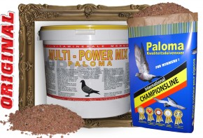 Paloma Multi Power Mix 40 x 10kg Eimer Sonderpreis!