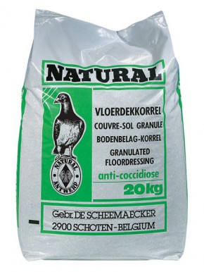 Natural Bodenbelag-Korrel 20kg Anti-Kokzidiose