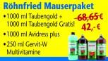 Röhnfried Mauserpaket 2018 (3+1 Produkt Gratis)