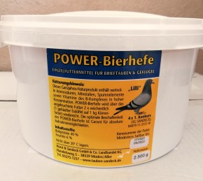 Sandeck Power Bierhefe 2500g NEU
