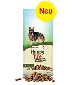 Happy Life Essential 20kg Hundefutter