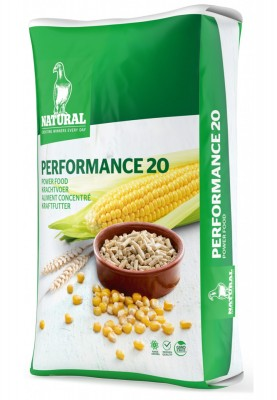 NATURAL Performance 20 Kraftfutter 20kg NEU